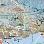 trail map ski Iqaluit Nunavut
