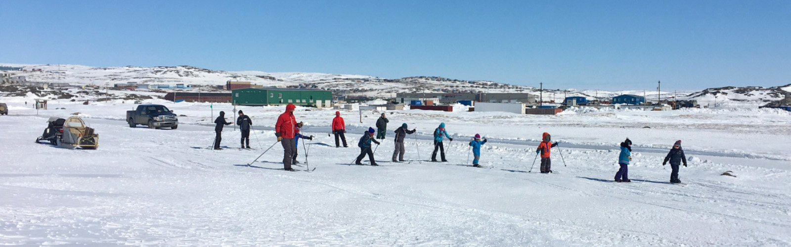 Iqaluit Jackrabbit cross-country ski